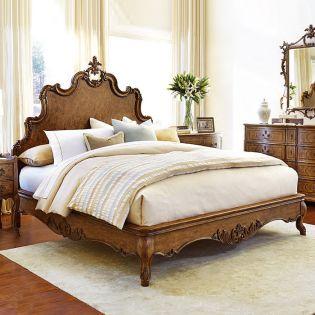 1450 Tyrolean  Panel Bed (침대+협탁+화장대)