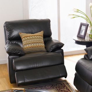 10434-1S  Leather Recliner