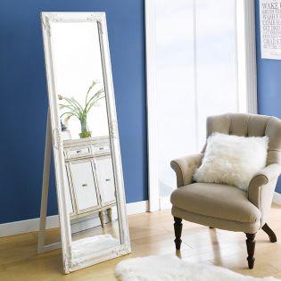 Karmen-White  Dressing Mirror
