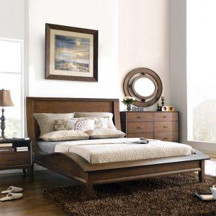 B3430  Platform Bed (침대+화장대+거울)