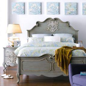 Liberty  Panel Bed (침대+협탁+화장대)