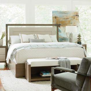 Synchronicity 628310B  Panel Bed (침대+협탁+화장대)