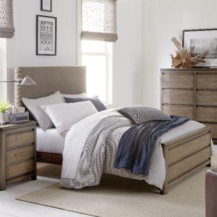 Big Sky 6810-4804K Upholstered Full Bed (침대) (매트 규격: 134cmx 193cm)