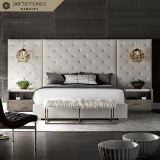 Brando  Panel King Bed w/ Wings