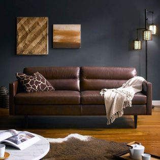10145   Leather Sofa