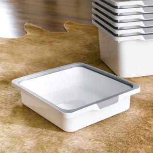 KB-WHT-SMALL  Storage Box