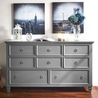 Tamarack-Grey  Drawer Dresser