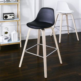 Zaki-Black Bar Chair