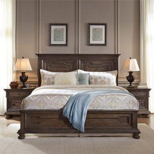Hamilton  Panel Bed (침대+협탁+화장대)