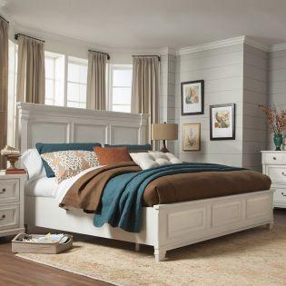 B4056  Panel Bed (침대+협탁+화장대)
