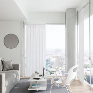 1012718-765 Curtain Tension Rod & Room Divider