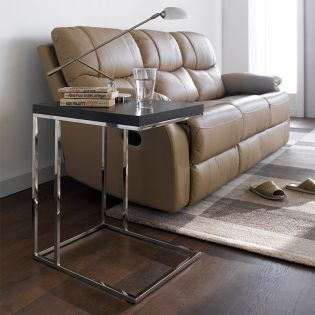 XR-T25-Dark Brown  Sofa Desk