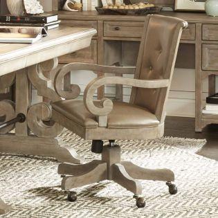 H4646-83  Upholstered Swivel Chair