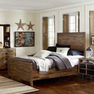 Y2377-64  Full Panel Bed