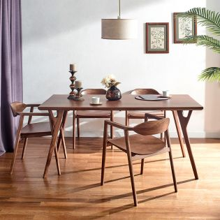 D7200-4  Dining Set (1 Table + 4 Chairs)