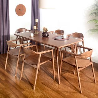 D7200-6  Dining Set (1 Table + 6 Chairs)
