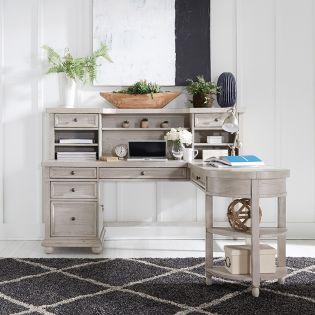 979-HO L Shaped  Desk Set
