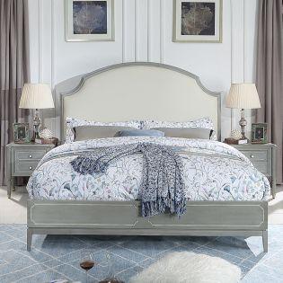 Genevieve  Panel Bed (침대+협탁+화장대)