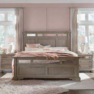 B5135  Complete Panel Bed (침대+협탁+화장대)