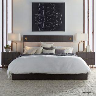 Bobby Berk 239135  Storage Bed  (침대+화장대+협탁)