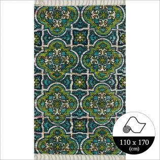 HAR27  Blue Lime (110x170cm)