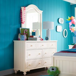 6481-1100 Summerset  Dresser + Mirror
