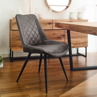 CWC213-Grey  Diamond Chair