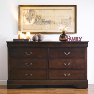 Louis-Brown-DR  Drawer Dresser
